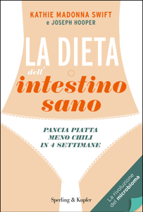 La dieta dell'intestino sano Libro Cover