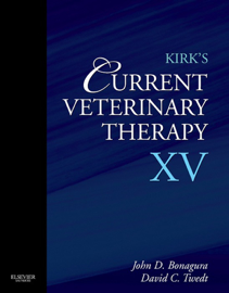 Kirk's Current Veterinary Therapy XV book