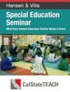 Special Education Seminar