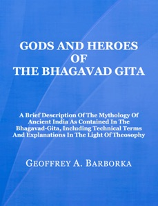 Gods and Heroes of the Bhagavad Gita Book Cover