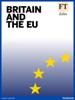 Financial Times - Britain and the EU artwork