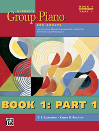 Alfred's Group Piano for Adults, Student Book 1 (2nd Edition): Part 1