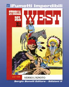 Storia del West n. 1 (iFumetti Imperdibili) Copertina del libro