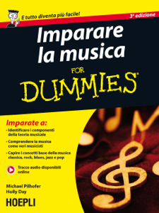 Imparare la musica for Dummies Copertina del libro