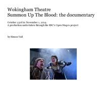 Wokingham Theatre Summon Up The Blood: The Documentary