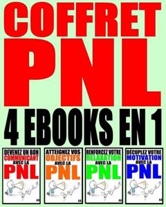 Coffret PNL : Plus de 60 exercices pour débutants & confirmés. 4 eBooks en 1 La couverture du livre martien