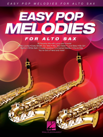 Easy Pop Melodies for Alto Sax