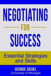 Negotiating for Success: Essential Strategies and Skills Book Cover
