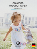CONCORD PRODUCT PAPER