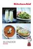 the Editors of Publications International, Ltd. - KitchenAid® Blender Recipes artwork