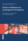 Schule Und Bildung Aus Soziologischer Perspektive E-Book