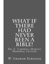 What If There Had Never Been A Bible