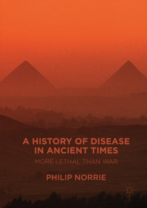 A History of Disease in Ancient Times Libro Cover