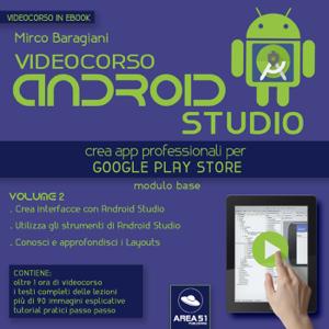 Videocorso Android Studio. Volume 2 Copertina del libro