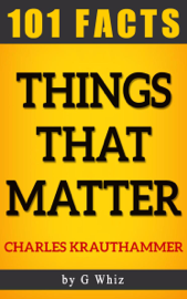 Things That Matter – 101 Amazing Facts book