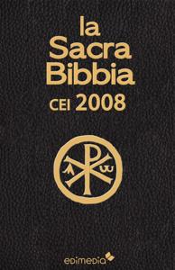 La Sacra Bibbia CEI 2008 Copertina del libro