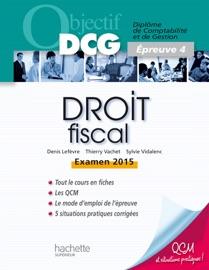 Objectif Dcg Droit Fiscal 2014 2015