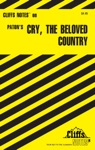 CliffsNotes On Patons Cry The Beloved Country
