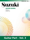 Suzuki Guitar School - Volume 3