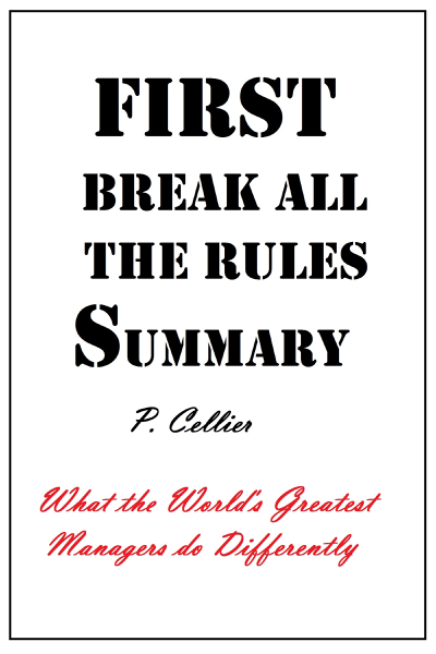 First Break All the Rules Summary