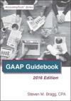 GAAP Guidebook 2016 Edition