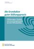 Bundesverband Deutscher Stiftungen - Die Grundsätze guter Stiftungspraxis artwork