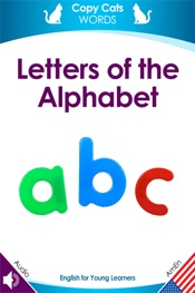 Letters of the Alphabet (American English audio)