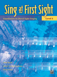 Sing at First Sight, Level 1 book