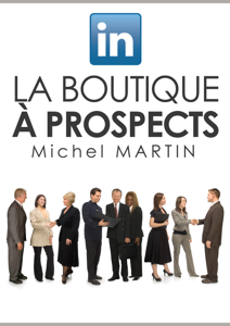 LinkedIn, la boutique à prospects La couverture du livre martien