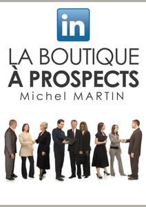 LinkedIn, la boutique à prospects La couverture du livre martien