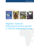 Nigeria's renewal: Delivering inclusive growth in Africa's largest economy