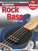 Rock Bass Guitar Lessons for Beginners