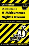 CliffsNotes On Shakespeares A Midsummer Nights Dream