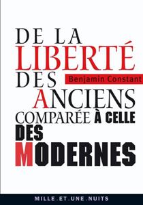 De la liberté des anciens comparée à celle des modernes La couverture du livre martien