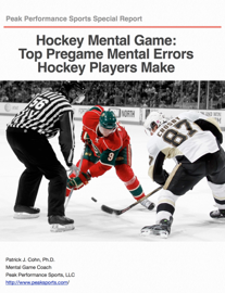 Hockey Mental Game: Top Pregame Mental Errors Hockey Players Make book