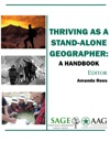 Thriving As A Stand-Alone Geographer