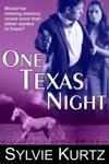 One Texas Night A Romantic Suspense Novel