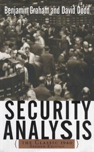Security Analysis: The Classic 1940 Second Edition Copertina del libro