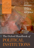 R. A. W. Rhodes, Sarah A. Binder & Bert A. Rockman - The Oxford Handbook of Political Institutions artwork