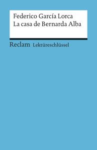 Lektüreschlüssel. Federico García Lorca: La casa de Bernarda Alba Buch-Cover