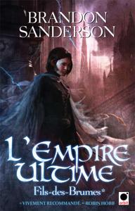 L'Empire Ultime, (Fils-des-Brumes*) La couverture du livre martien