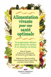 Alimentation vivante pour une santé optimale La couverture du livre martien