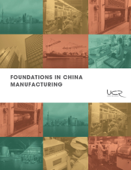 Foundations in China Manufacturing