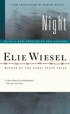 Night - Elie Wiesel & Marion Wiesel book