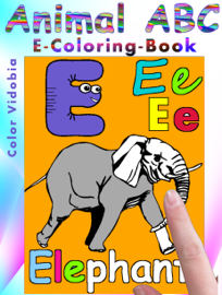 Animal ABC – E-Coloring-Book