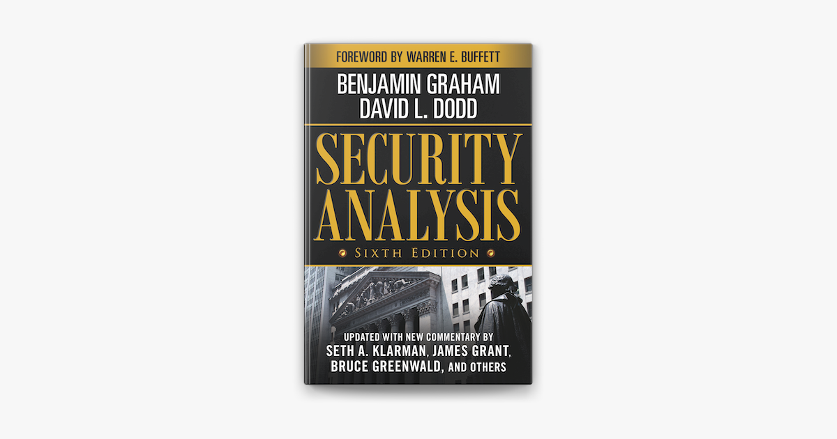 Security Analysis: Sixth Edition, Foreword by Warren