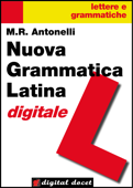 Nuova Grammatica Latina digitale Book Cover