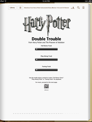 Harry Potter: Clarinet Instrumental Solos from Movies 1-5 by Alfred Music  on Apple Books