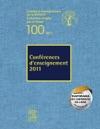 Confrences Denseignement 2011