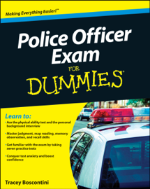 Police Officer Exam For Dummies book